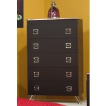 Black Chest White Chest Life Line Elvis Chest of Drawers | Xiorex
