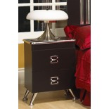 Black Night Table White Night Table Life Line Elvis Nightstand | Xiorex
