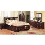 Bookcase Storage Bedroom Furniture Set 136 | Xiorex