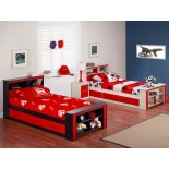 Life Line Tango Mates Beds Twin Full Queen Bookcase Mates Beds | Xiorex