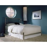 Chatham Bed Contemporary Bed in Satin Finish by Fashion Bed Group | Xiorex