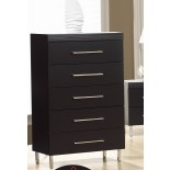 Chest of Drawers Life Line Phantom Chest of Drawers Black White | Xiorex