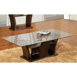 Columba Table Top Glass Coffee Table Toronto | Xiorex