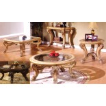 Corvi Glass Top Coffee Table Sets Mississauga | Xiorex