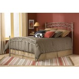 Ellsworth Bed New Brown Finish Metal Bed by Fashion Bed Group | Xiorex