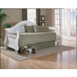 Fraser Daybed by Fashion Bed Group w/ Front Panel & Lowboy Rollout
