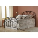 Grafton Bed Heavy Tubing Metal bed in Rusty Gold | Fashion Bed Group