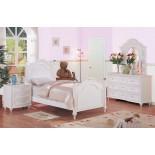 White Kids Poster Bedroom Furniture Set 175 | Xiorex