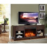 Kerr Fireplace Muskoka Indoor Fireplace w Widescreen Firebox| Xiorex