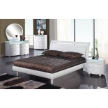 High Gloss Modern Platform Bedroom Furniture Set 154 | Xiorex