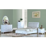 White Modern Platform Bedroom Furniture Set 156 | Xiorex