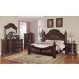Poster Bedroom Furniture Set 123 | Xiorex