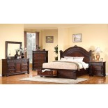 Poster Storage Bedroom Furniture Set 140 | Xiorex