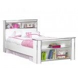 Bookcase Headboard & Footboard Bed Frames Life Line Tango Beds | Xiorex