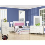Life Line Priscilla Headboad Bedroom Collection in White | Xiorex