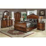 Sleigh Bedroom Furniture Set 112 | Xiorex