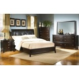 Bedroom Furniture Set with Leather Headboard 129 | Xiorex
