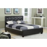 Upholstered Platform Bed Furniture with Tufted Headboard 182 | Xiorex