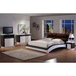 Chic Upholstered Platform Bedroom Furniture Set 155 | Xiorex
