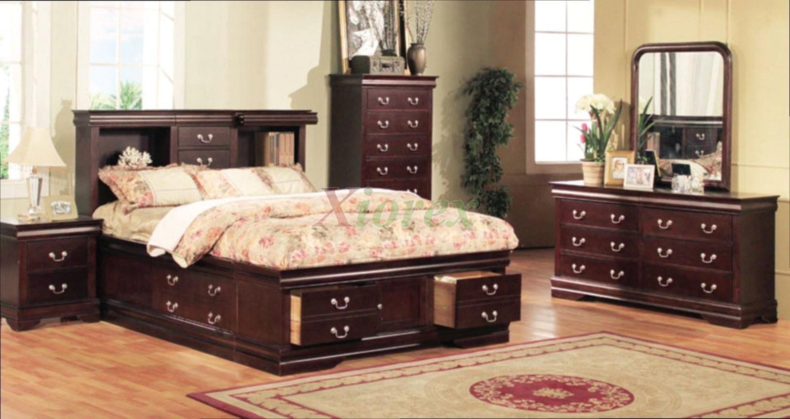 Bookcase Storage Bedroom Furniture Set 136 Xiorex