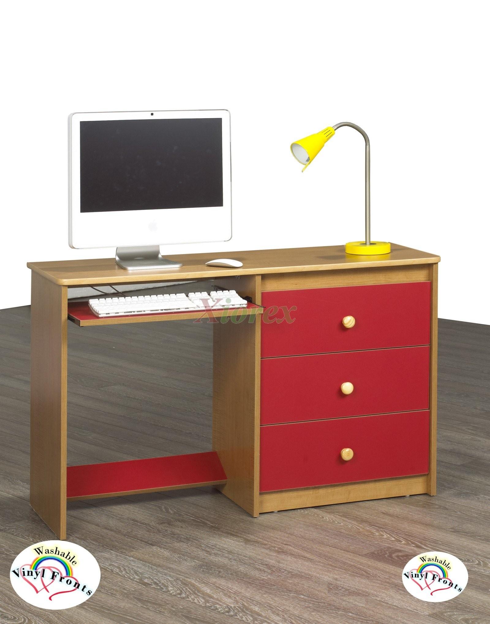 used price dot red desk blu
