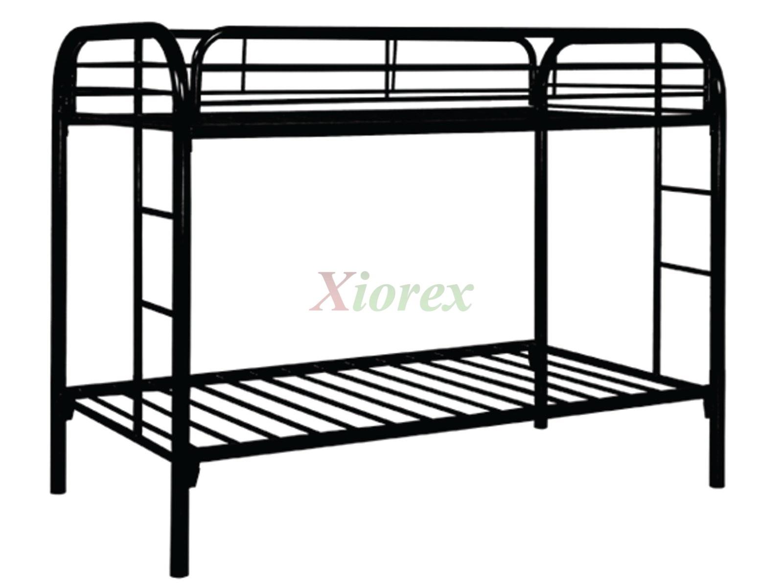 제과/제빵 - A Twin Or Full Bunk Bed May Be Metal Or Wood
