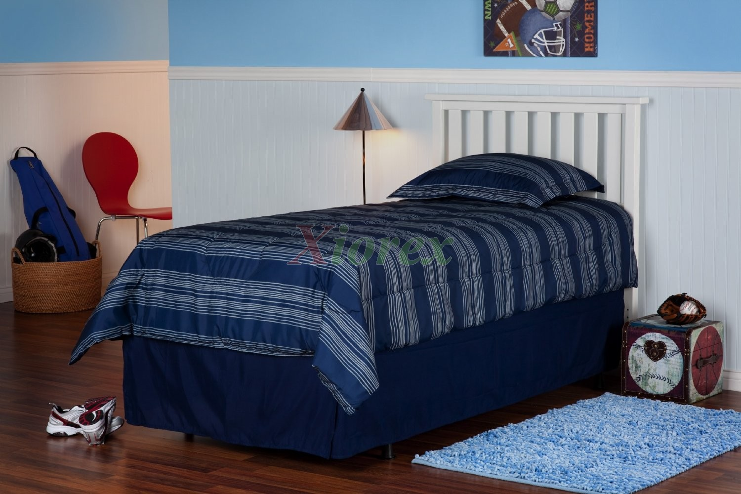 Belmont Headboard Slatted Wood For Twin Full Queen Size Beds
