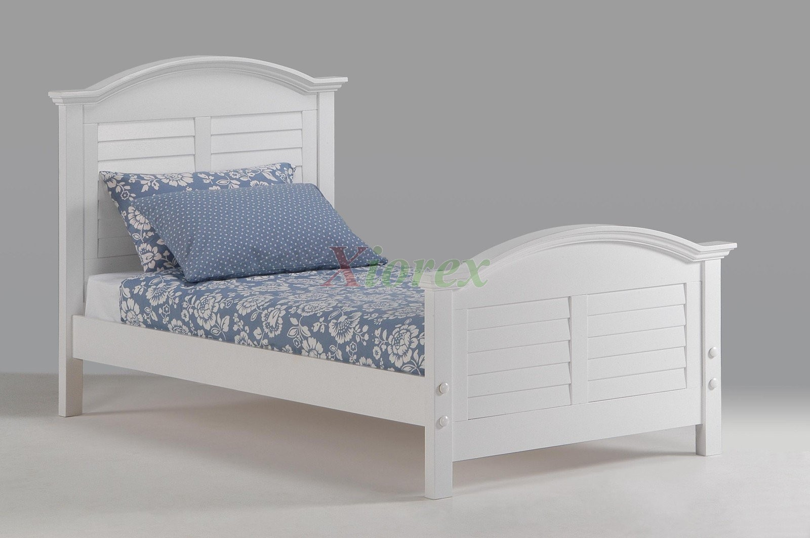 Powell White Twin Bedroom In A Box: White Bed For Girls Night And Day Sandpiper Bed With