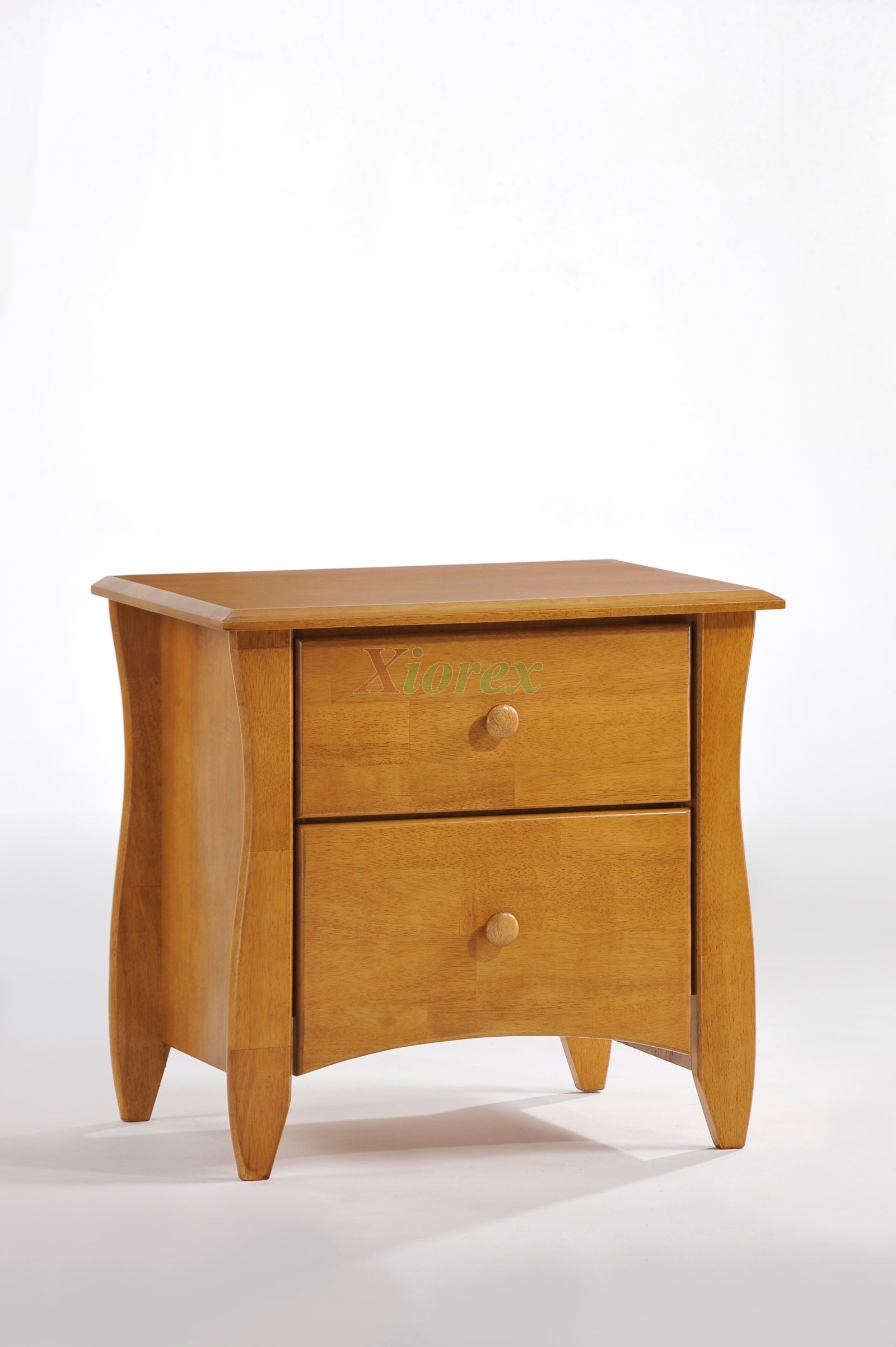 Clove 2 Drawer Nightstand Xiorex